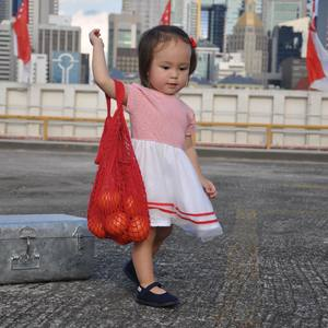 A bag full of luck and well wishes for Singapore's 56th birthday!   National day celebrations have been rescheduled to 21st August - more days to get the perfect outfit for the children. Check out our new Stripes! Collection online and in store now.  #iconicstripes #ballerinadress #chateaudesable